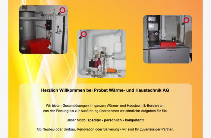 Website www.probstwt.ch