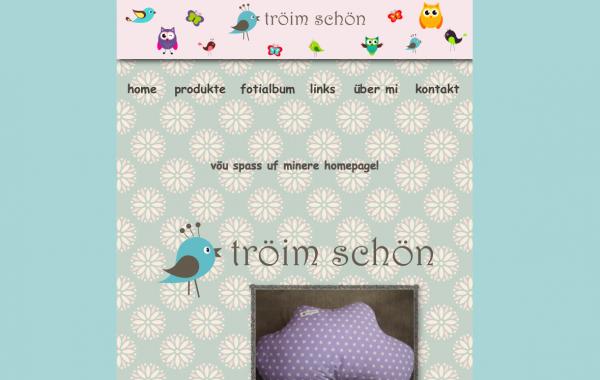 Website www.tröimschön.ch
