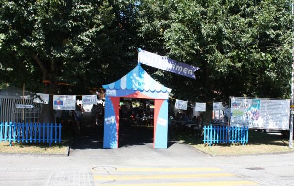 Tor zum Zeltfest 2016